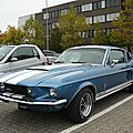 Ford mustang shelby cobra gt350 fastback 1967