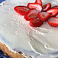 Tarte aux fruits rouge et chocolat blanc