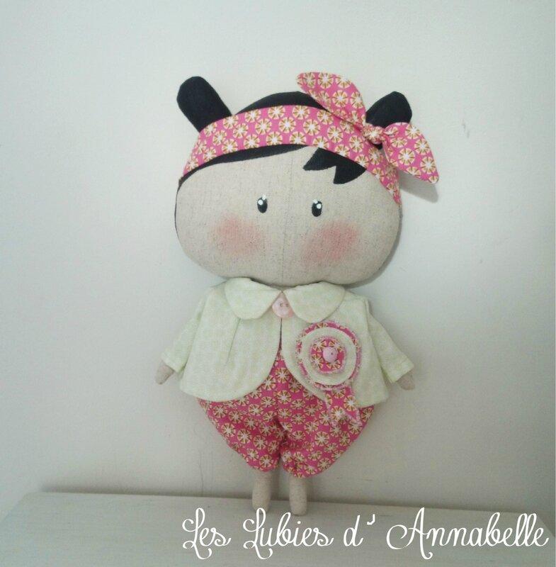 poupée Tilda Sweetheart shabby chic