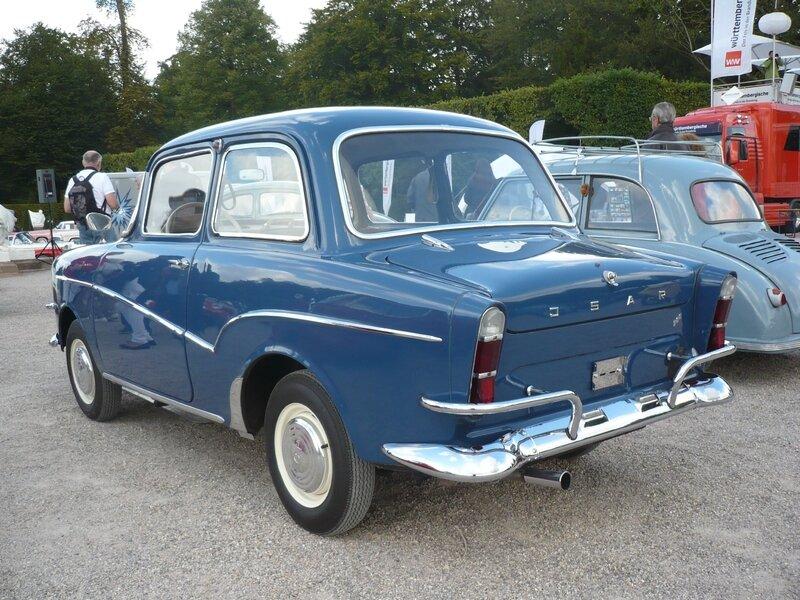 GLAS Isar T600 berline 1961 Schwetzingen (2)