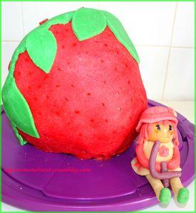 gateau charlotte aux fraises