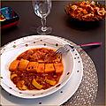 Mijoté de dinde, chorizo bellota et patates douces