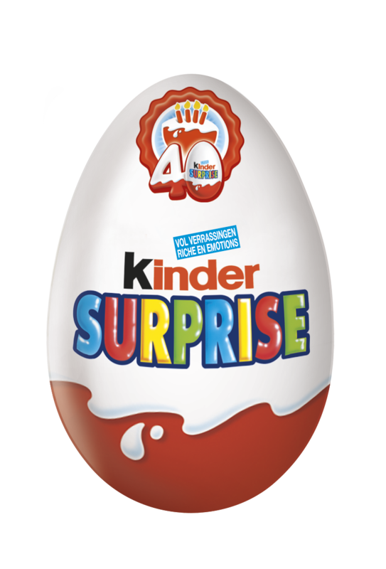Egg 40 Kinder Surprise LD