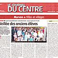 Le Journal du Centre du 28-06-2011