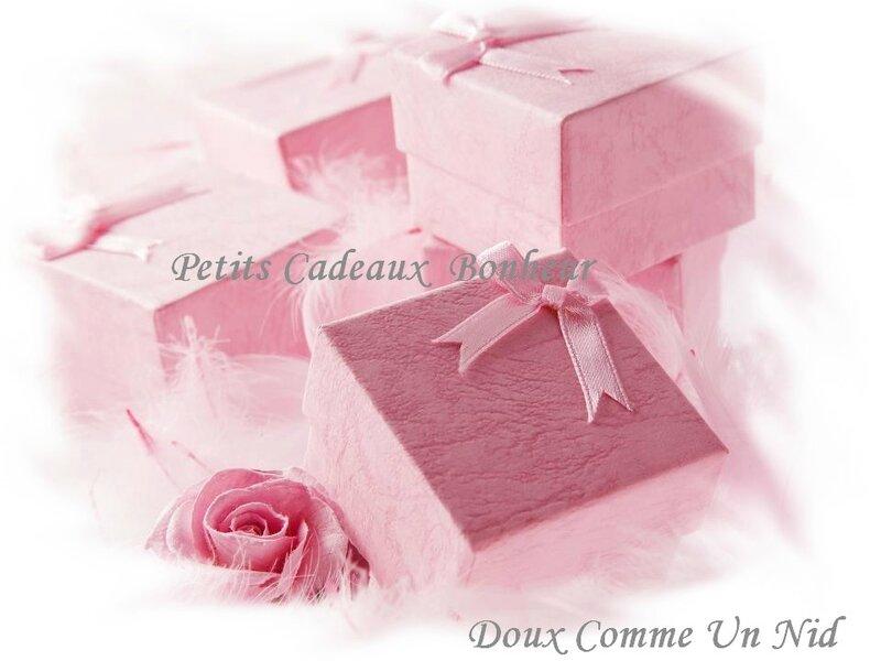 Petits cadeaux Bonheur 1