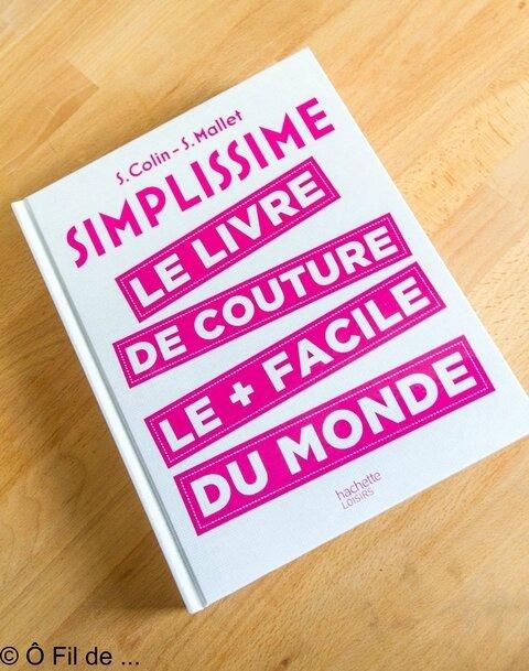 SIMPLISSIME le livre de couture le + simple du monde