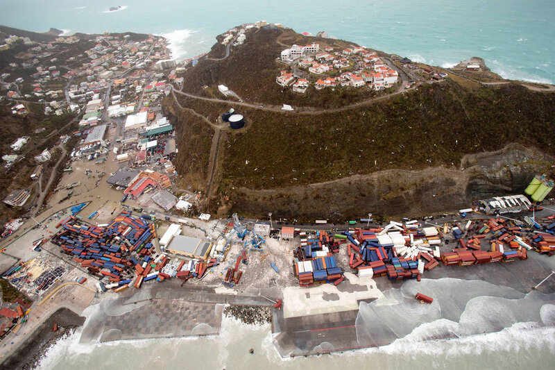Hurricane_Irma_on_Sint_Maarten_(NL)_01 (auteur Ministry of Defense, Netherlands)