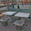 A Chinawtown encore, un petit parc sur Mulberry Street