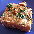 Saumon mariné et cuit au four, un bonheur simple !