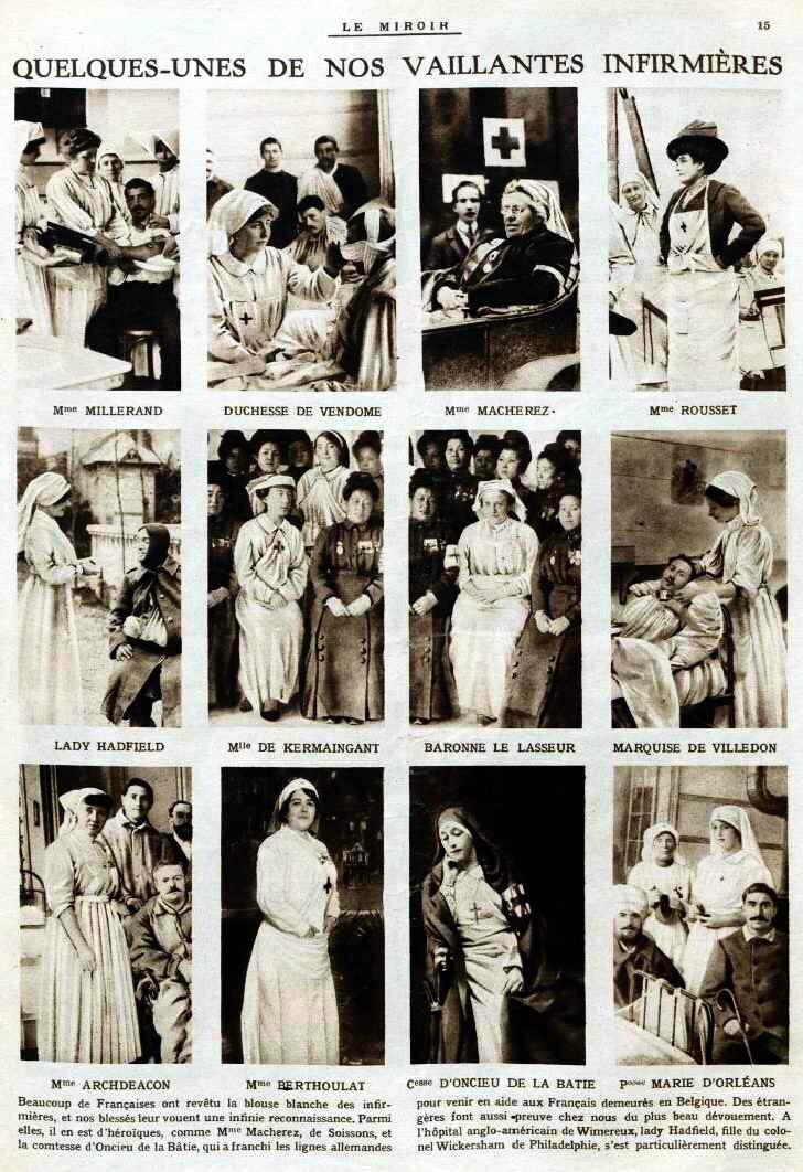 Le Miroir vaillantes infirmières