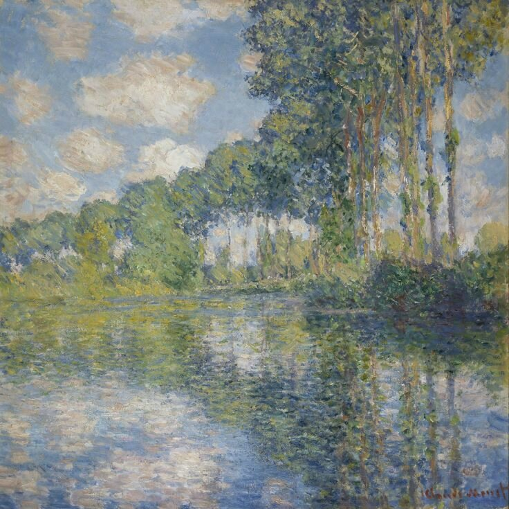 Claude Monet, Poplars on the Epte, 1891