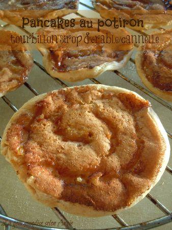 pancakes potiron tourbillon sirop érable cannelle