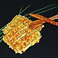 Gaufres à la pomme de terre