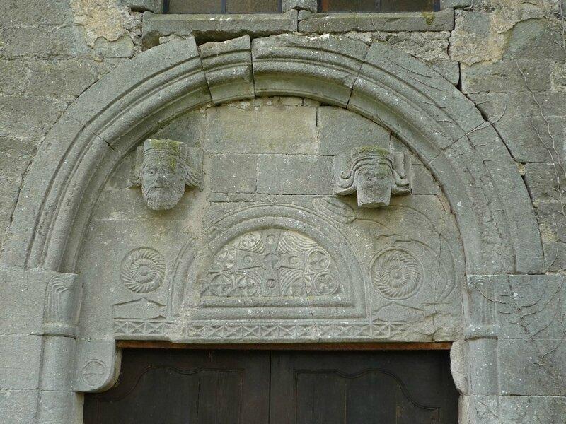 le tympan du portail