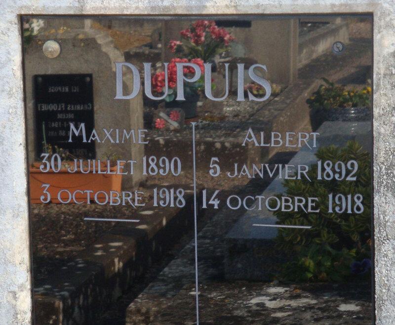 La Châtre 14-18 (37) mort à Châlons sur Marne
