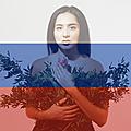 32/39 - russie - manizha - русская женщина (russian woman)