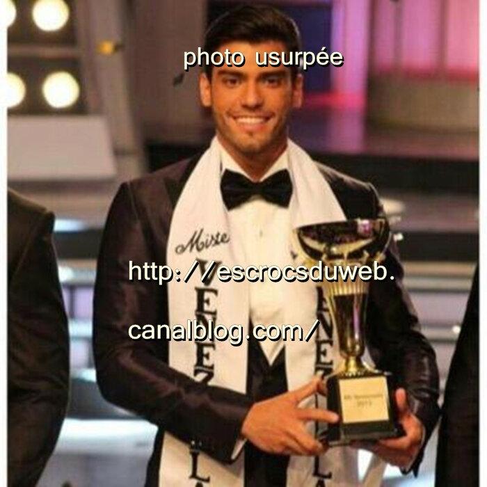 Gabriel Correa - Mister Venezuela 2015 model , usurpé