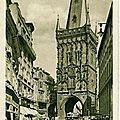 Prague : Tour Poudrière acpgkrgef3945