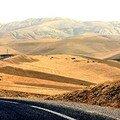 Sur la route 3-région de volubilis