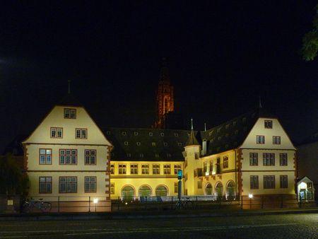 Musée hisorique Strasbourg nuit