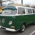 Volkswagen combi type 2 vitré
