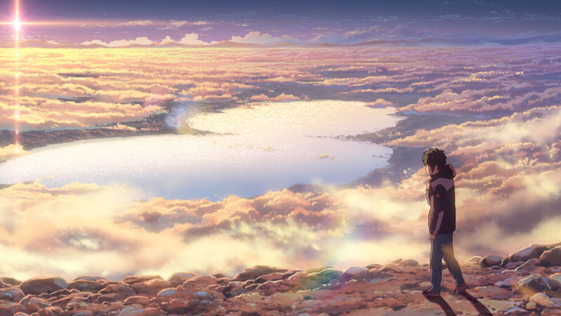 Canalblog Anime Makoto Shinkai Your Name Nature08