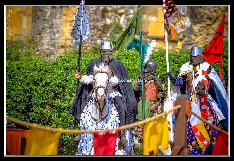 joutes équestre Cie Capalle fête médiévale du Château de Talmont en Vendée (1)