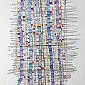 Aquarelle abstrait 121 peinture valerie albertosi
