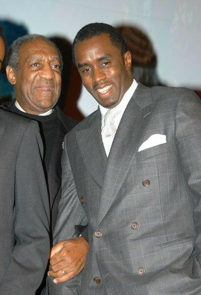 la légende Bill Cosby en compagnie de Diddy