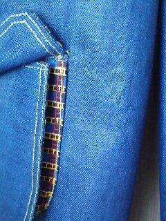 Pantalon Baggy - poche à soufflet détail