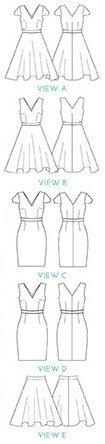 Simple Sew Patterns - Veronika