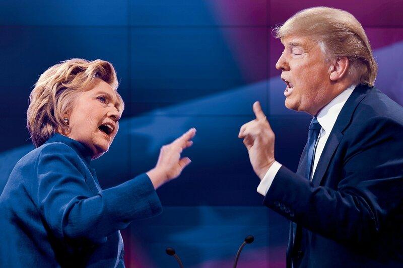 Trump Clinton Debate 2