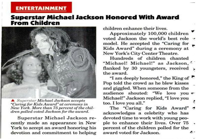 children choice award 1994
