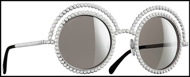 chanel lunettes solaires perles 2