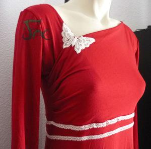 Robe bambou rouge (3)