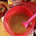 Compote de pomme et pruneaux - 6 mois