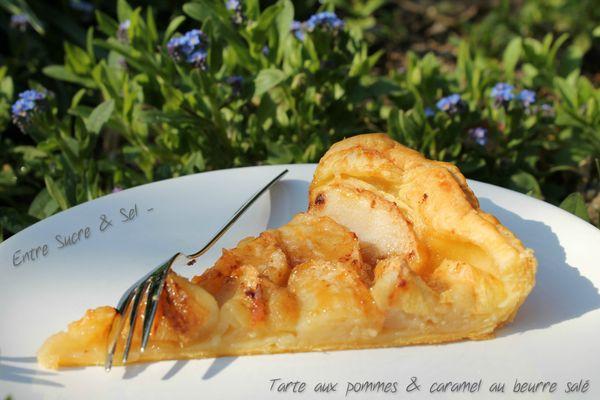 Tarte aux pommes caramel beurre salé 2