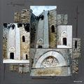 Maguelone - l'entrée de la cathédrale