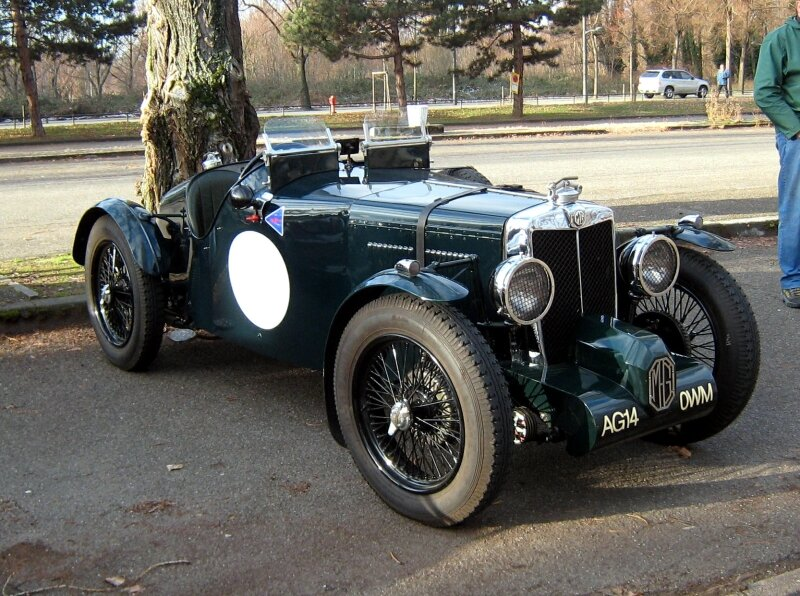 MG K3 magnette two seater racing (Retrorencard janvier 2010) 01