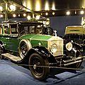 Rolls royce 20hp limousine 1925