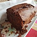 Tender chocolate cake
