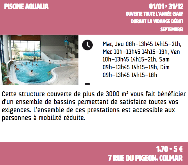 Piscine Acqualia
