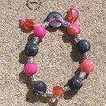Petit bracelet fimo trés gai !!