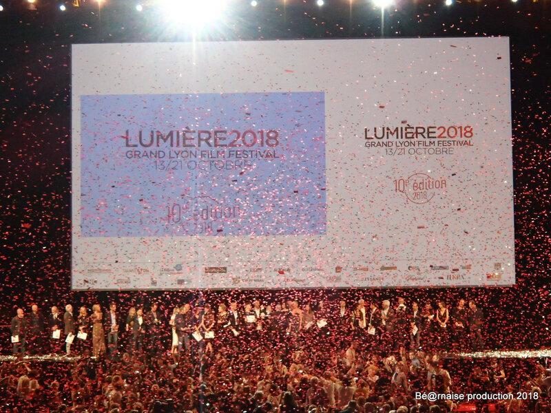 Ouverture 10ème Festival Lumière (Lyon, octobre 2018)