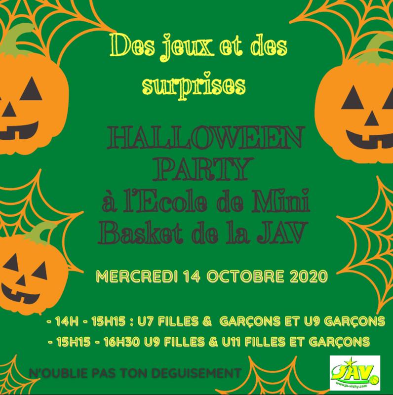 2020-10-14 Halloween party