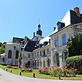 Images de l'abbaye de valloires, visitée le 31 juillet