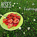 Salade de fraises à l'estragon
