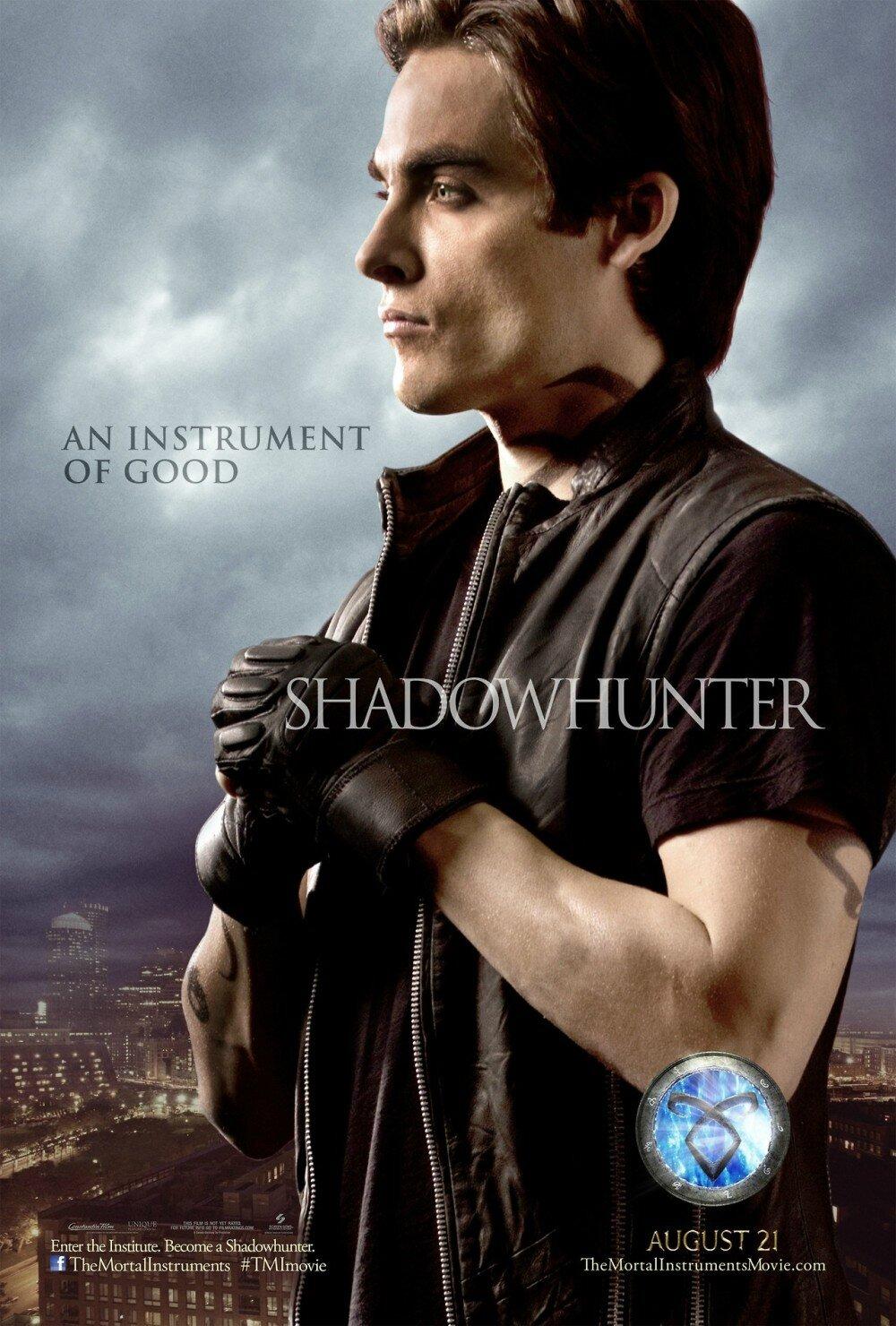 Alec Lightwood Poster TMI movie