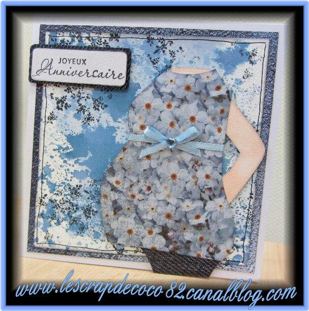 Carte Femme Enceinte Joyeux Anniversaire Pour Laure Le Scrap