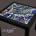 Tables mosaiques